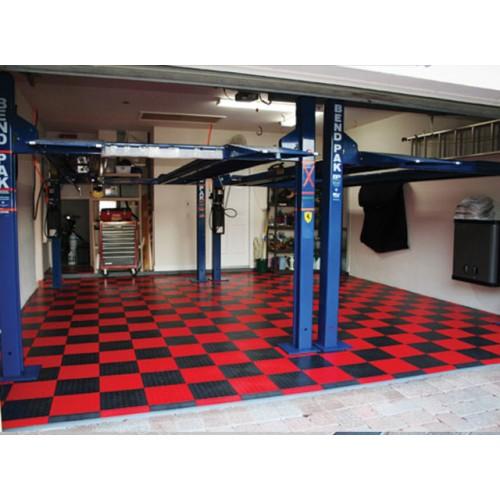 Racedeck circletrac garage floor tile 12 - Revetement pour garage ...