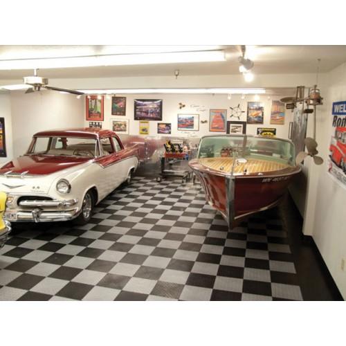 """Racedeck Diamond Garage Floor Tile  12"""". Shower Door Trim. Garage Wall. 2 Car Garage Addition Cost. Garage Door Instalation. Metal Shed Doors. Steel Front Door. Corrugated Steel Garage. Menards Sliding Patio Doors"""