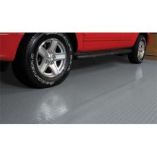 Rolled Garage Flooring - Coin Pattern - 8.5'x22' - 75 mil