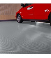 Ribbed Rolled Garage Flooring - 7.5'x14' - 55 mil