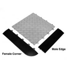 RaceDeck Female Corner Edging
