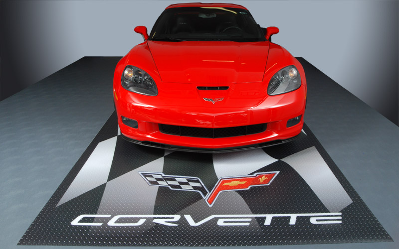 Corvette Parking Pad