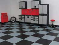 Garage Flooring - Tile