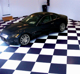 garage floor tile colors