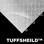 Tuffshield Garage Floor Tiles - Race Deck