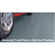 Diamond Tread Garage Rolled Flooring - 10'x24' - 75 mil